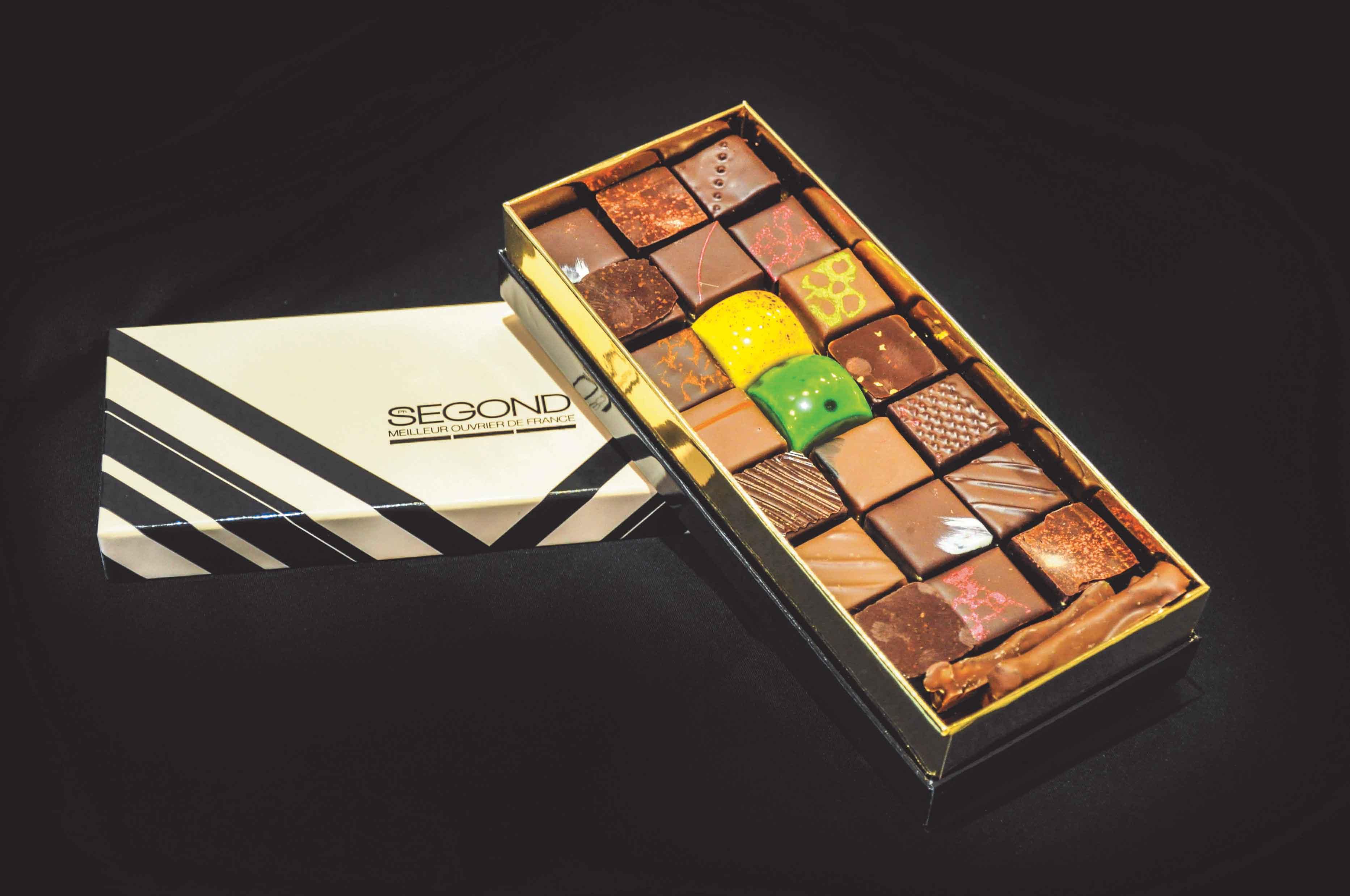 Boite de chocolats artisanaux