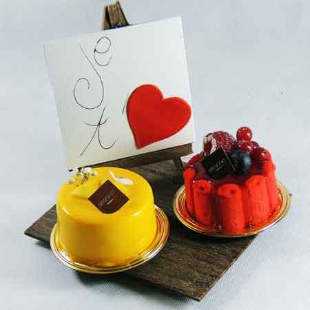 Chocolat pour la saint-valentin