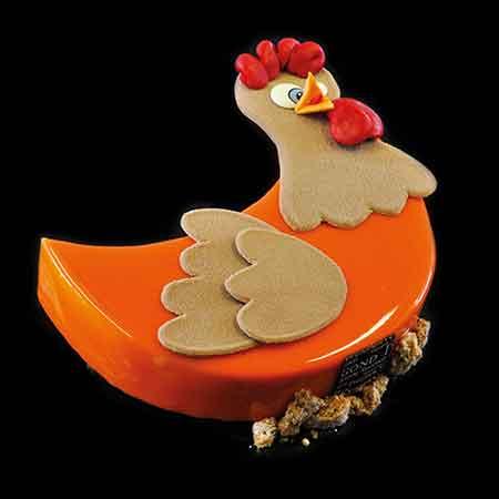 gateau de paques abricot