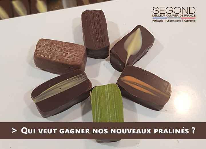 Gagnez un ballotin de chocolats pralinés